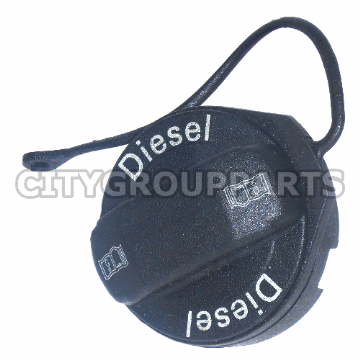VW GOLF BEETLE PASSAT POLO TOURAN AUDI A3 A3 A6 / DIESEL FUEL CAP & ANTI LOSE CORD